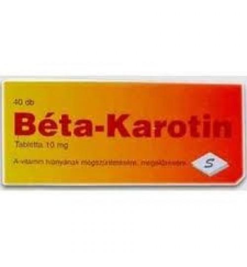 BÉTA TABLETTA KAROTIN
