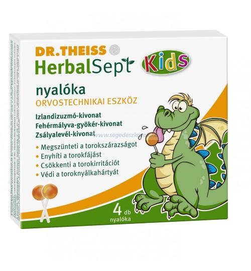 DR.THEISS HERBALSEPT NYALÓKA ORVOSTECHNIKAI ESZKÖZ 4DB