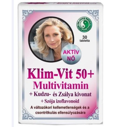 DR.CHEN MULTIVITAMIN NŐKNEK KLIM-VIT KAPSZULA