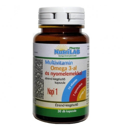 NUTRILAB MULTIVITAMIN OMEGA-3 30DB