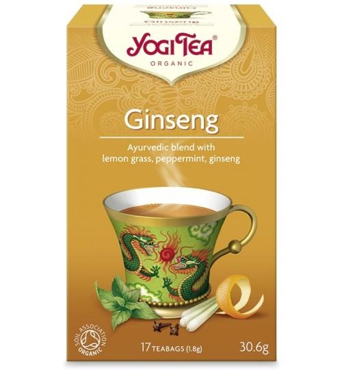 BIO YOGI GINSENG TEA 17DB