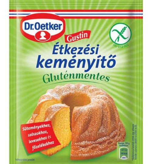 DR.OETKER GUSTIN ÉTKEZÉSI KEMÉNYÍTŐ GLUTÉNMENTES 80 g