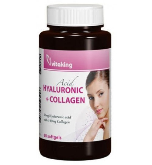 VITAKING HYALURONIC ACID+COLLAGEN 60db