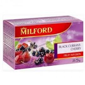 MILFORD TEA FILTERES RIBIZLI CSERESZNYE