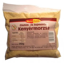 GLUTÉNMENTES MESTER CSALÁD KENYÉRMORZSA