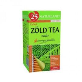 NATURLAND TEA ZÖLD TEA FILTERES