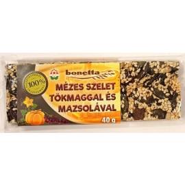BONETTA MÉZES SZELET TÖKMAGGAL MAZSOLÁVAL