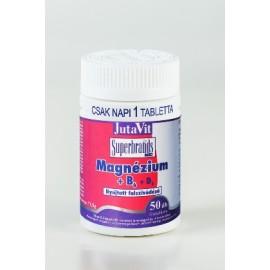 JUTAVIT MAGNÉZIUM + B6 TABLETTA