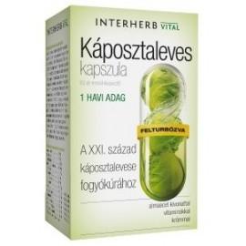 INTERHERB VITAL KÁPOSZTALEVES KAPSZULA