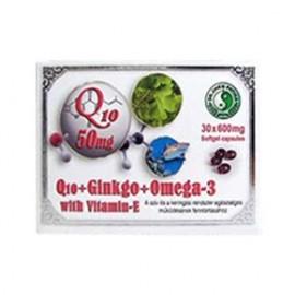 DR.CHEN Q10 GINKGO OMEGA-3 KAPSZULA