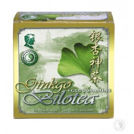 DR.CHEN TEA GINKGO BILOTEA + GLUCOSAMIN FILTERES