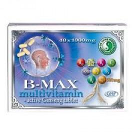 DR.CHEN B-MAX MULTIVITAMIN ÉS AKTÍV GINSENG TABLETTA