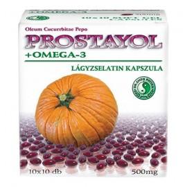 DR.CHEN PROSTAYOL+OMEGA 3 KAPSZULA