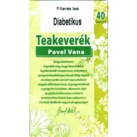 PAVEL VANA TEAKEVERÉK DIABETIKUS FILTERES