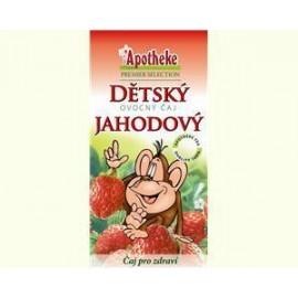 Apotheke gyümölcstea gyermekeknek eperrel /majom