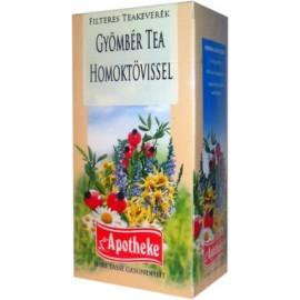 APOTHEKE TEA GYÖMBÉR FILTERES