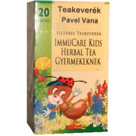 PAVEL VANA TEAKEVERÉK IMMUCARE KIDS HERBAL FILTERES