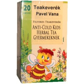 PAVEL VANA TEAKEVERÉK ANTI-COLD HERBAL GYERMEKEKNEK FILTERES