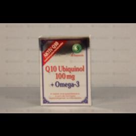 DR.CHEN Q10 UBIQUINOL 100MG+OMEGA3 LÁGYZSELATIN KAPSZULA