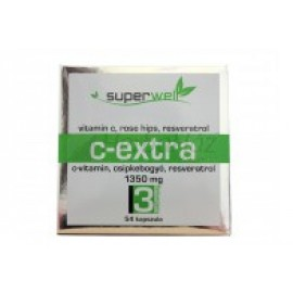 SUPERWELL C-EXTRA VITAMIN KAPSZULA