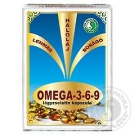 DR.CHEN OMEGA-3-6-9 LÁGYZSELATIN KAPSZULA