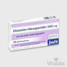 JUTAVIT DIOZMIN+HESZPERIDIN 500MG TABLETTA