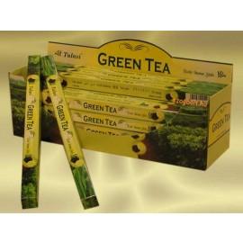 TULASI FÜSTÖLŐ GREEN TEA