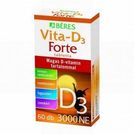 BÉRES VITA-D3 FORTE 3000NE TABLETTA
