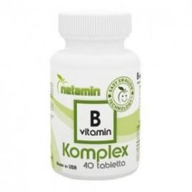 NETAMIN B-VITAMIN KOMPLEX TABLETTA