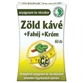 DR.CHEN ZÖLD KÁVÉ + FAHÉJ + KRÓM KAPSZULA