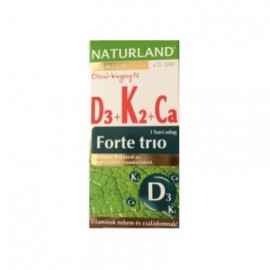 NATURLAND D3+K2+CA FORTE TRIO TABLETTA
