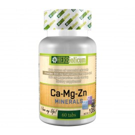 HERBIOTICUM CA-MG-ZN MINERALS TABLETTA 60DB