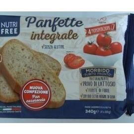 GLUTÉNMENTES NUTRI FREE PANFETTE INTEGRALE 340G