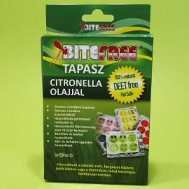 BITEFREE TAPASZ CITRONELLA OLAJJAL 6DB