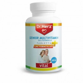 DR.HERZ SENIOR MULTIVITAMIN 50+ LACTOBACILLUS TABLETTA