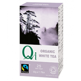 BIO QI ORGANIKUS FAIRTRADE FEHÉR TEA