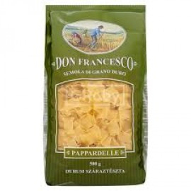 DON FRANCESCO FARFALLE DURUM TÉSZTA