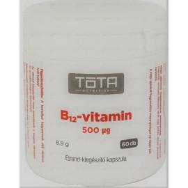 TÓTA B12-VITAMIN 500 MCG KAPSZULA 60DB