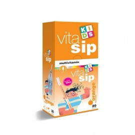 VITASIP ORANGE FLAVOURED MULTIVITAMIN 30DB