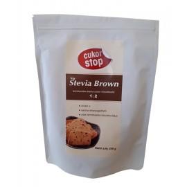 CUKOR-STOP STEVIA BROWN 250G