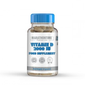 MARATHONTIME VITAMIN D 2000 IU FOOD SUPPLEMENT 60DB