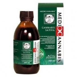 VITA CRYSTAL CANNABIS SATIVA CANNABINOID OIL 200ML