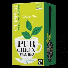 BIO CUPPER ORGANIC PUR GREEN TEA 20DB
