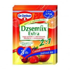 DR.OETKER DZSEMFIX 2:1 CSALÁDI CSOMAG 3DB 75 g