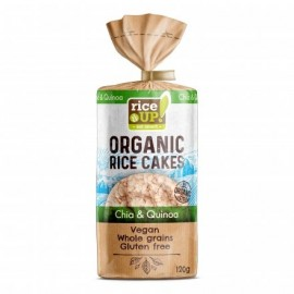 RICE UP BIO SZELET CHIA MAG&QUINOA 120g