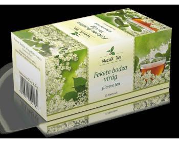 MECSEK TEA FEKETE BODZA VIRÁG FILTERES 25DB
