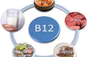 A B12 vitamin (ciano-kobalamin)
